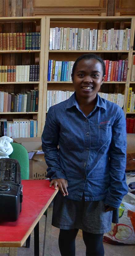 Don de livres à Madagascar