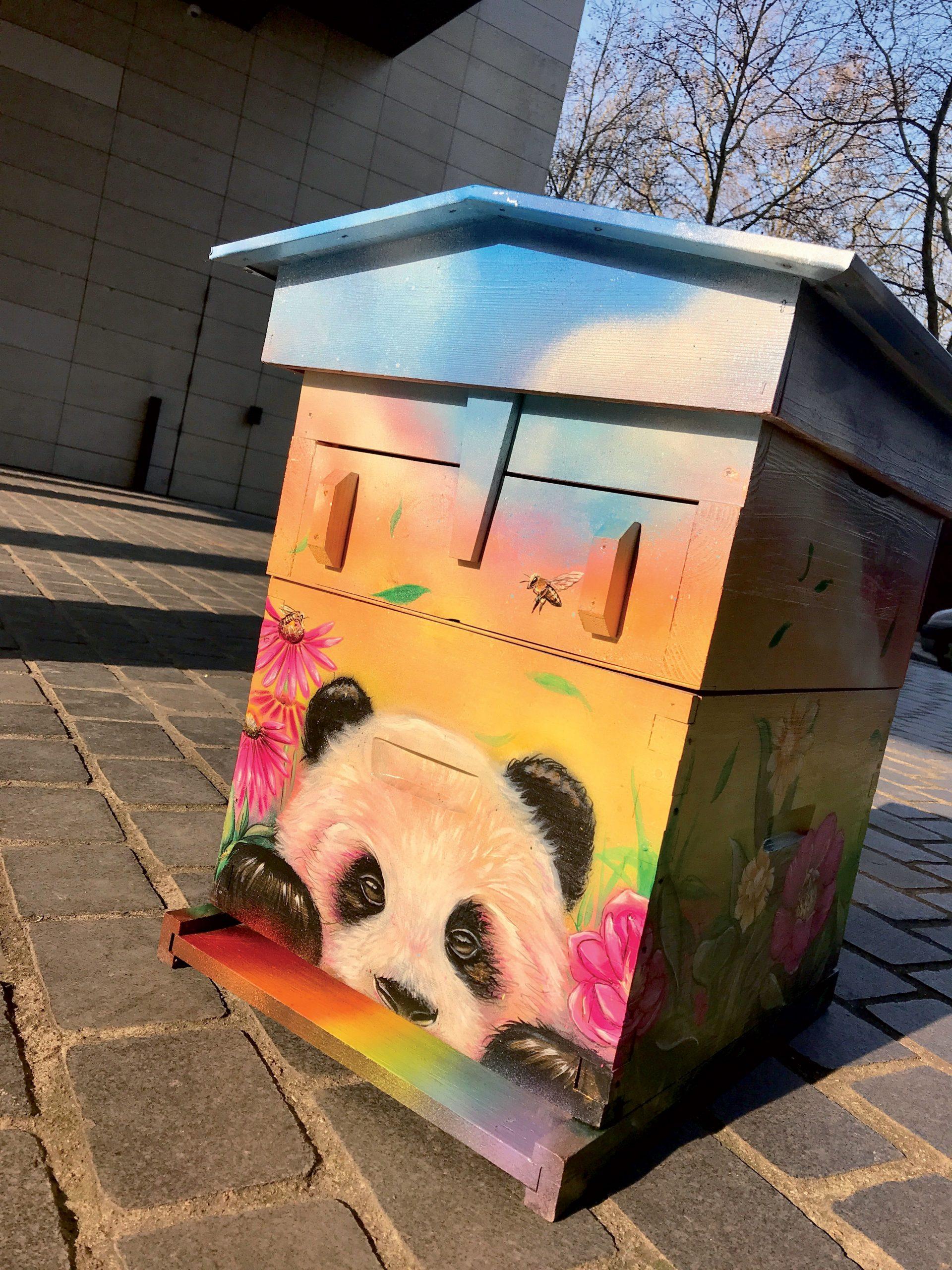 Ruche Street Art