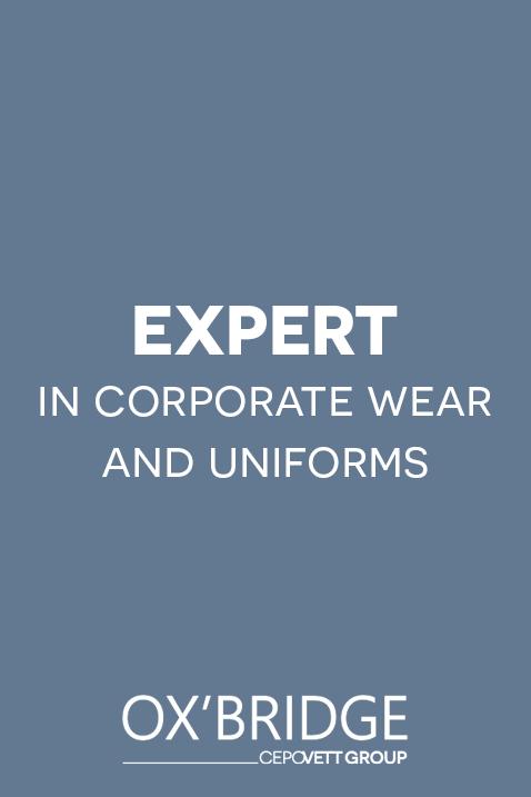 Ox'Bridge, expert in corporate wear and uniforms