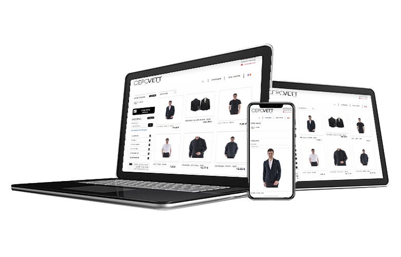 Webshop - Customised websites