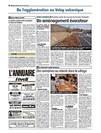 Revue de presse Cepovett Group dans L'Eveil de la Haute-Loire mai 2020