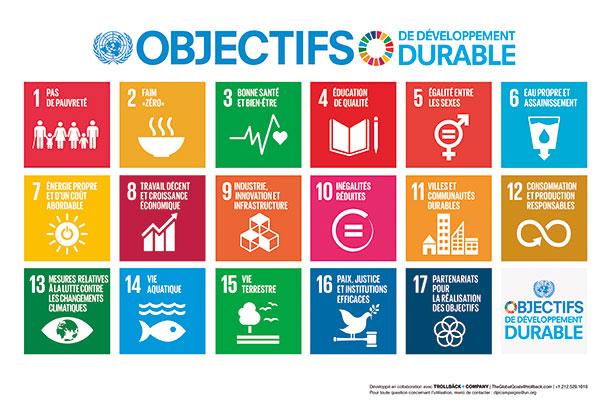 Objectifs de développement durable CEPOVETT Group