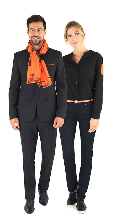 Eco-designed collection of the Orange brand