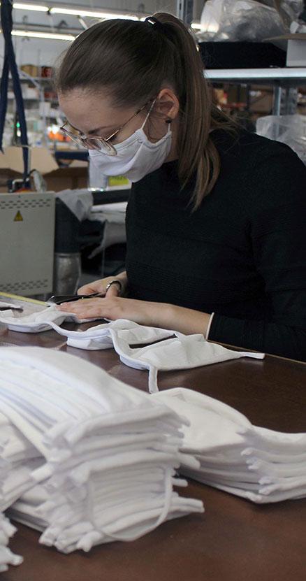 Les ateliers Cepovett s'engagent contre le Coronavirus