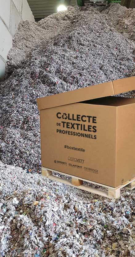 CEPOVETT Group's boxtextile Recyclovett
