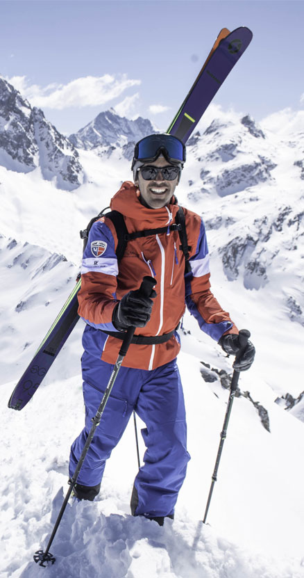 Collection CEPOVETT Safety pour ESF Courchevel